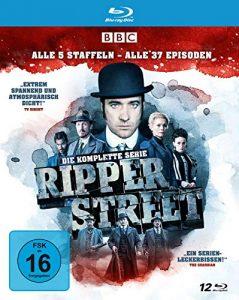 Ripper Street – Die komplette Serie – Alle 5 Staffeln – Alle 37 Episoden [Blu-ray]