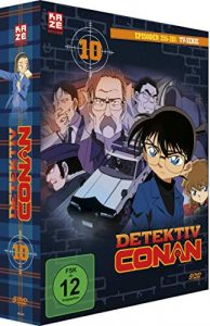 Detektiv Conan – TV-Serie – DVD Box 10 (Episoden 255-280)