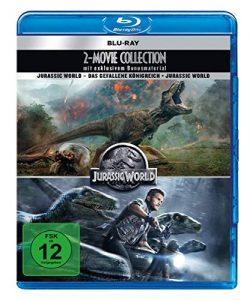 Jurassic World – 2 Movie Collection (2 Blu-rays + 2 DVD-Bonusdiscs)