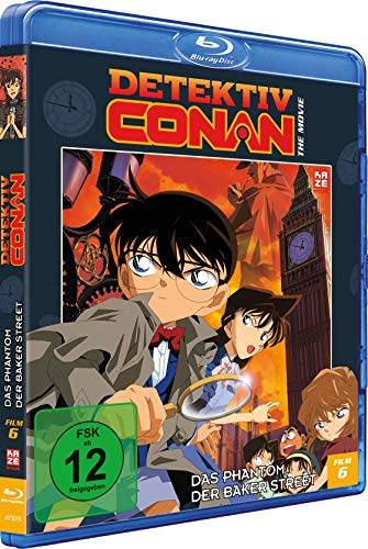 Detektiv Conan - 6. Film: Das Phantom der Baker Street [Blu-ray]