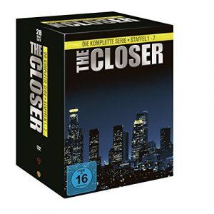 The Closer – Die komplette Serie (Staffel 1-7) (exklusiv bei Amazon.de) [Limited Edition] [28 DVDs]