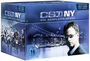 CSI: NY – Die komplette Serie [54 DVDs]