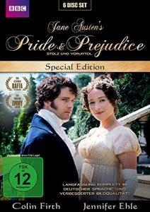 Stolz und Vorurteil – Pride & Prejudice – Jane Austen – New Edition – Special Edition [6 DVDs]