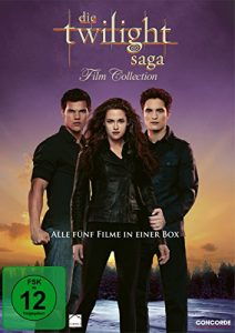 Die Twilight Saga Film Collection [5 DVDs]