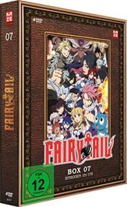 Fairy Tail – TV-Serie – DVD Box 7 (Episoden 151-175)