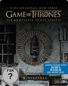 Game of Thrones – Staffel 8 (Limitiertes 4K Ultra HD Steelbook) [Blu-ray] [Limited Edition]