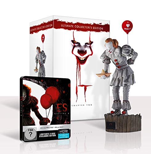 ES KAPITEL 2 Ultimate Collector's Edition (Steelbook und Pennywise Sammlerfigur) Exklusiv bei Amazon.de [Blu-ray]