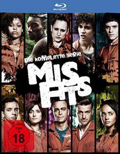 Misfits – Die komplette Serie [Blu-ray]