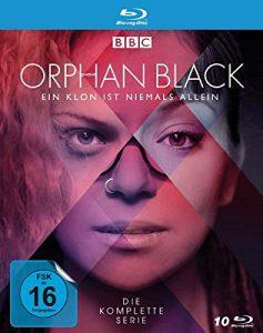 Orphan Black – Die komplette Serie – Alle 5 Staffeln – Alle 50 Episoden [Blu-ray]