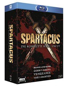 Spartacus – Die komplette Serie Uncut