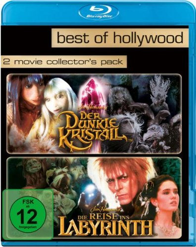 Der dunkle Kristall/Die Reise ins Labyrinth - Best of Hollywood/2 Movie Collector's Pack [Blu-ray]