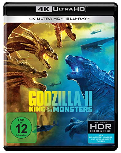 Godzilla II: King of the Monsters (4K Ultra HD + Blu-ray)