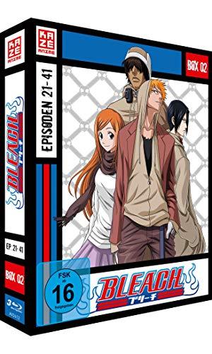 Bleach TV-Serie - Blu-ray-Box 2 (Episoden 21-41) (3 Blu-rays)
