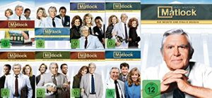Matlock – Season/Staffel 1-9 – die komplette Serie im Set – Deutsche Originalware [52 DVDs]