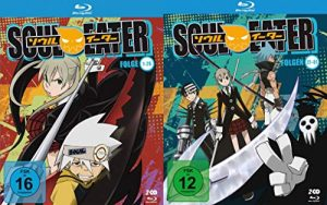 Soul Eater – Die komplette Serie – Folgen 1-51 im Set (4 Blu-ray)