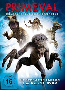 Primeval: Rückkehr der Urzeitmonster – Die kompletten Staffeln 1 bis 4 (11 DVDs)