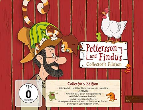 Pettersson und Findus - Collector's Edition (12 DVDs) - Die kompletten Staffeln 1 + 2 sowie die Kinofilme 1-4