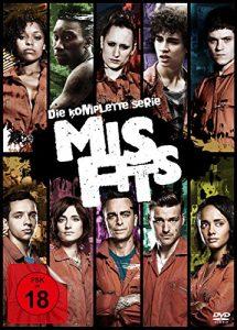 Misfits – Die komplette Serie [13 DVDs]