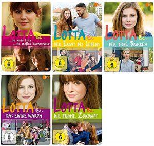 Lotta & der Ernst des Lebens + die frohe Zukunft + der dicke Brocken … 5 Filme Paket [DVD Set]