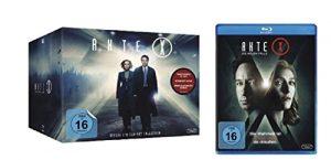 Akte X Box Die komplette Serie Staffel 1-9 + Die neuen Fälle / Blu-ray Set