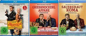 Eberhofer – 5 Filme Set ( Triple Box + Grießnockerlaffäre + Sauerkrautkoma) – Deutsche Originalware [5 Blu-rays]
