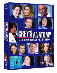 Grey's Anatomy: Die jungen Ärzte – Die komplette 6. Staffel [6 DVDs]