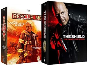 The Shield Complete Series Blu Ray + Rescue Me Complete Series Blu Ray