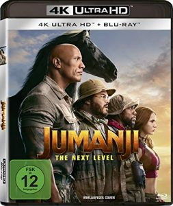 Jumanji: The Next Level – UHD [Blu-ray]