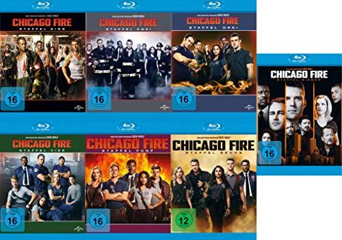 Chicago Fire - Die kompletten Staffeln 1+2+3+4+5+6+7 im Set (39 Blu-ray)