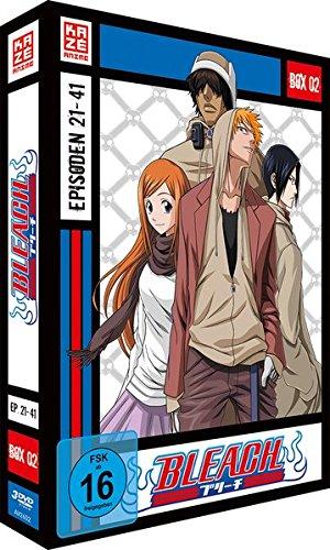Bleach TV-Serie - Box 2 (Episoden 21-41) [3 DVDs] [Blu-ray]