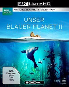 """UNSER BLAUER PLANET II – Die komplette ungeschnittene Serie zur ARD-Reihe """"Der blaue Planet""""  (3 Blu-ray-4K Ultra HD + 3 Blu-ray-2D)"""