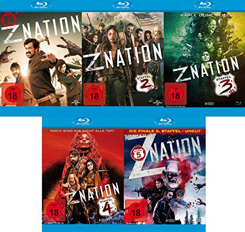 Z-Nation - Die komplette Serie - Staffel 1-5 im Set (18 Blu-ray)