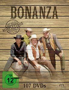 Bonanza – Komplettbox, Staffeln 1-14 (107 Discs)