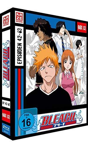Bleach TV-Serie - Blu-ray-Box 3 (Episoden 42-63) (3 Blu-rays) Blu-ray