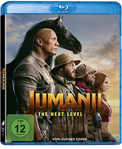 Jumanji: The Next Level - Blu-ray