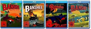 Blu-ray Set * Banshee – Season / Staffel 1+2+3+4 (1-4)