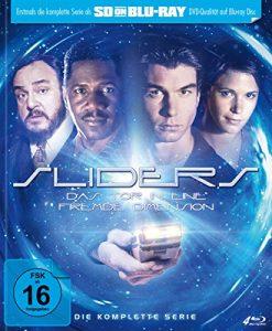 Sliders – Das Tor in eine fremde Dimension – Die komplette Serie – Mediabook  (SD on Blu-ray) [Limited Edition]