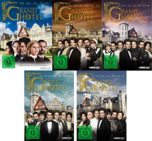 Grand Hotel - Staffel 1-5 Komplette Serie im Set - Deutsche Originalware [18 DVDs]