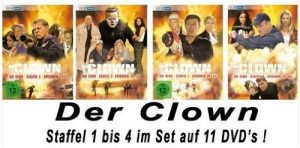Der Clown – Die Serie Staffel 1-4 im Set [11DVDs]